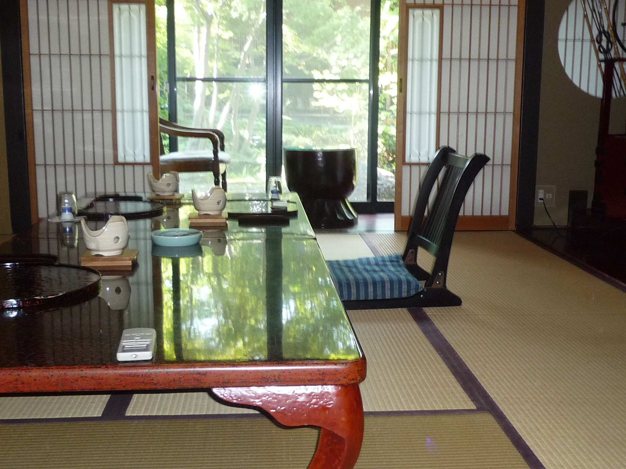 Ryokan-Traditional Japanese style inns with Tatami floors and Futon beds