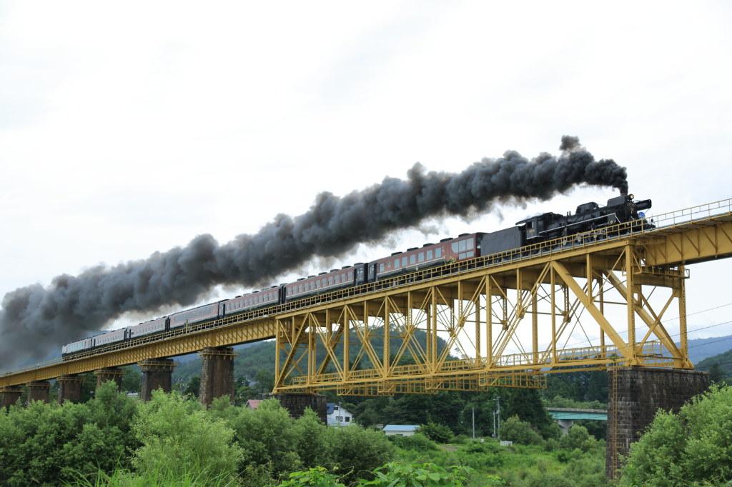 SL-Steam train in Japan