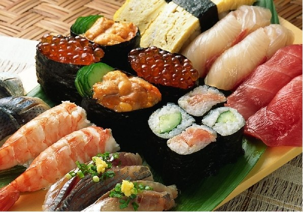 Sushi - One of the most famouse Japanese foods